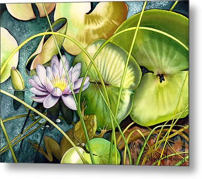 Summertime Metal Print by Lyse Anthony