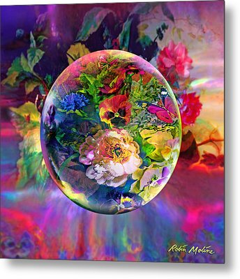 Summertime Passing Metal Print by Robin Moline