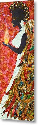 Sun Guardian - The Keeper Of The Universe Metal Print by Apanaki Temitayo M