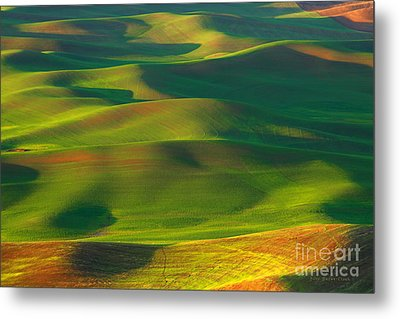 Sun Painted Hills Metal Print by Beve Brown-Clark Photography