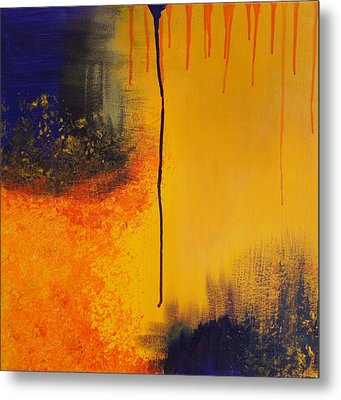 Sun Rising Metal Print by Kristine Bogdanovich