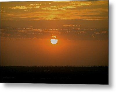 Sun Set Over Sa Metal Print by Shawn Marlow
