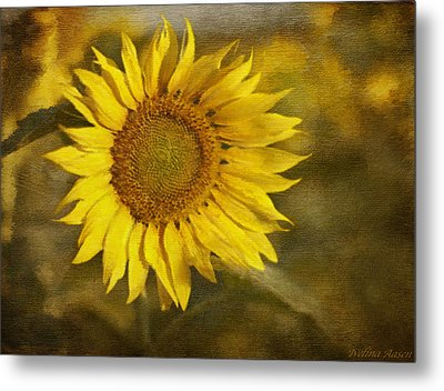 Sunflower And Sunshine  Metal Print by Ivelina G
