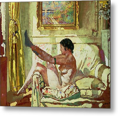 Sunlight Metal Print by Sir William Orpen