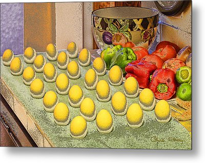 Sunny Side Up Metal Print by Chuck Staley