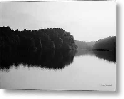 Sunrise Along The River Metal Print by Debra Forand