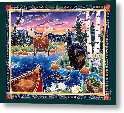 Sunrise At Bear Lake Metal Print by Harriet Peck Taylor
