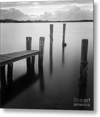 Sunrise At Tuncurry New South Wales Metal Print by Colin and Linda McKie