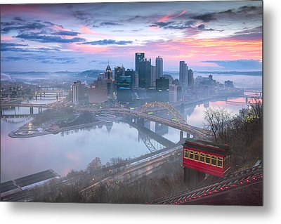 Pittsburgh Fall Day Metal Print by Emmanuel Panagiotakis