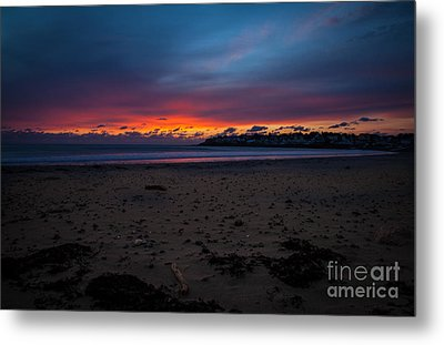 Sunrise On Shortsands  Metal Print by Sue OConnor