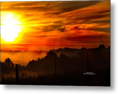 Sunrise Metal Print by Stephani JeauxDeVine