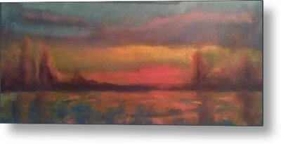 Sunset 2012 Metal Print by Piotr Wolodkowicz