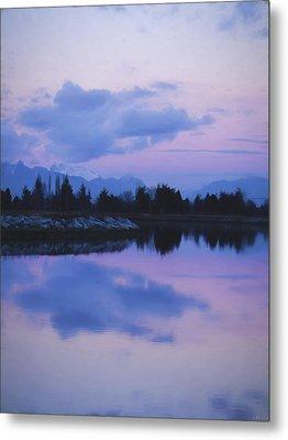 Sunset Art - Nature's Painting Metal Print by Jordan Blackstone