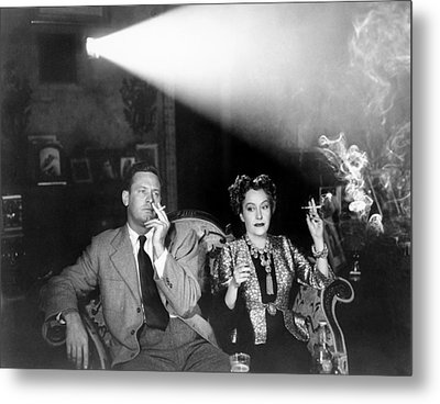 Sunset Boulevard, From Left, William Metal Print by Everett