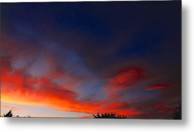 Sunset Metal Print by Frederick R