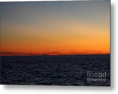 Sunset Over Point Lookout Metal Print by John Telfer