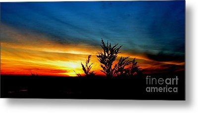 Sunset Overlooking Pacifica Ca IIi Metal Print by Jim Fitzpatrick