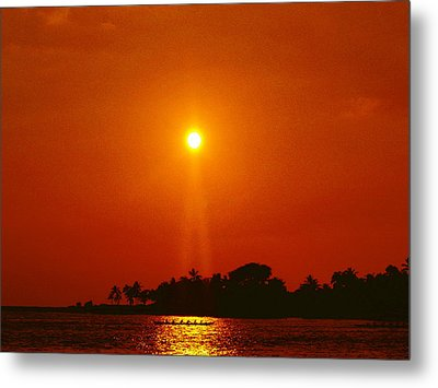 Sunset Ride Metal Print by Athala Carole Bruckner