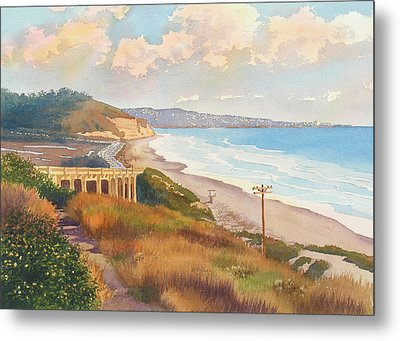 Sunset View Of Torrey Pines Metal Print by Mary Helmreich