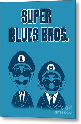 Super Blues Bros. Metal Print by Brian Campbell