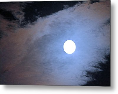 Super Moon Metal Print by Carolyn Ricks
