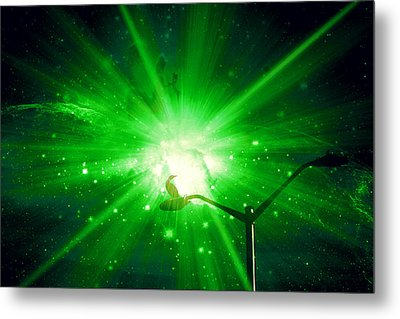 Supernova V Metal Print by Aurelio Zucco