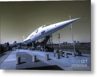 Supersonic  Metal Print by Rob Hawkins