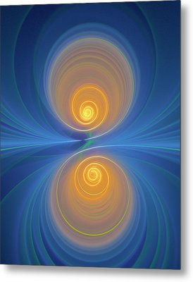 Supersymmetry And Or Bipolarity Metal Print by David Parker