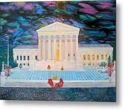 Supreme Court Metal Print by Mike De Lorenzo