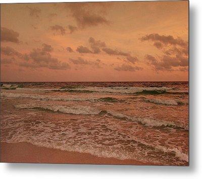 Surf - Florida Metal Print by Sandy Keeton