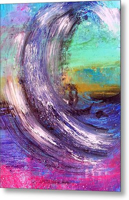 Surf Is Up Metal Print by Nikki Dalton