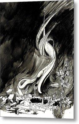 Surprise Metal Print by Julio Lopez