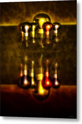 Surreal Lights Metal Print by Ramon Martinez