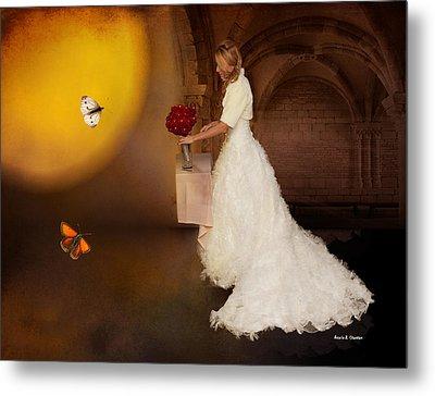 Surreal Wedding Metal Print by Angela A Stanton