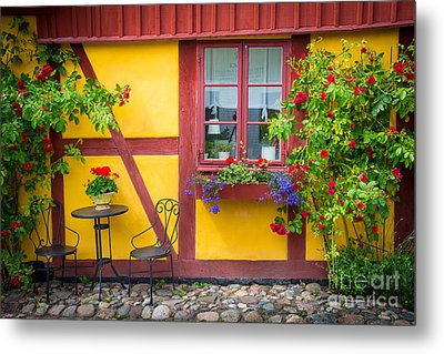 Swedish Summer Metal Print by Inge Johnsson