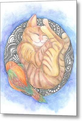 Sweet Dreams Metal Print by Cherie Sexsmith