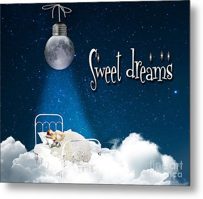 Sweet Dreams Metal Print by Juli Scalzi