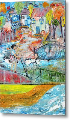 Sweet Memories Metal Print by Evelina Popilian