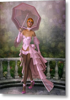 Sweet Rosie O'grady Metal Print by David Griffith