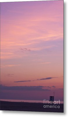 Sweet Sunset Metal Print by Angela Doelling AD DESIGN Photo and PhotoArt