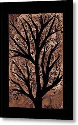 Swirling Sugar Maple Metal Print by Barbara St Jean