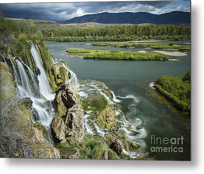 Swirling Waters Metal Print by Idaho Scenic Images Linda Lantzy