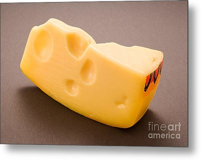 Swiss Cheese Metal Print by Danny Smythe