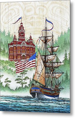 Symbols Of Our Heritage Metal Print by James Williamson