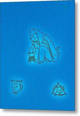 Symbols Metal Print by Ryan Klass