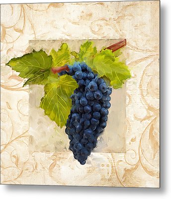 Syrah II Metal Print by Lourry Legarde