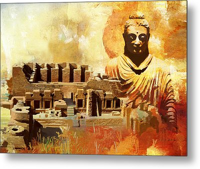 Takhat Bahi Unesco World Heritage Site Metal Print by Catf
