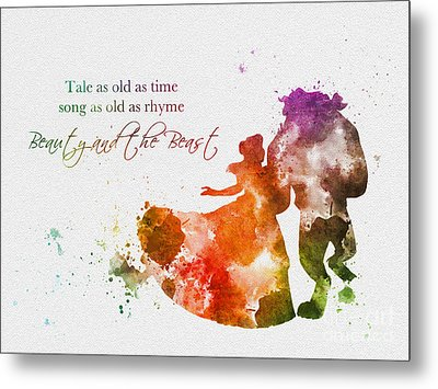 Tale As Old As Time Metal Print by Rebecca Jenkins