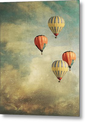 Tales Of Far Away Metal Print by Violet Gray
