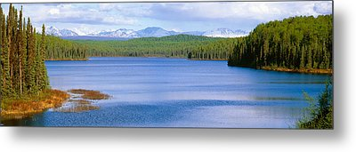 Talkeetna Lake, Alaska Metal Print by Panoramic Images